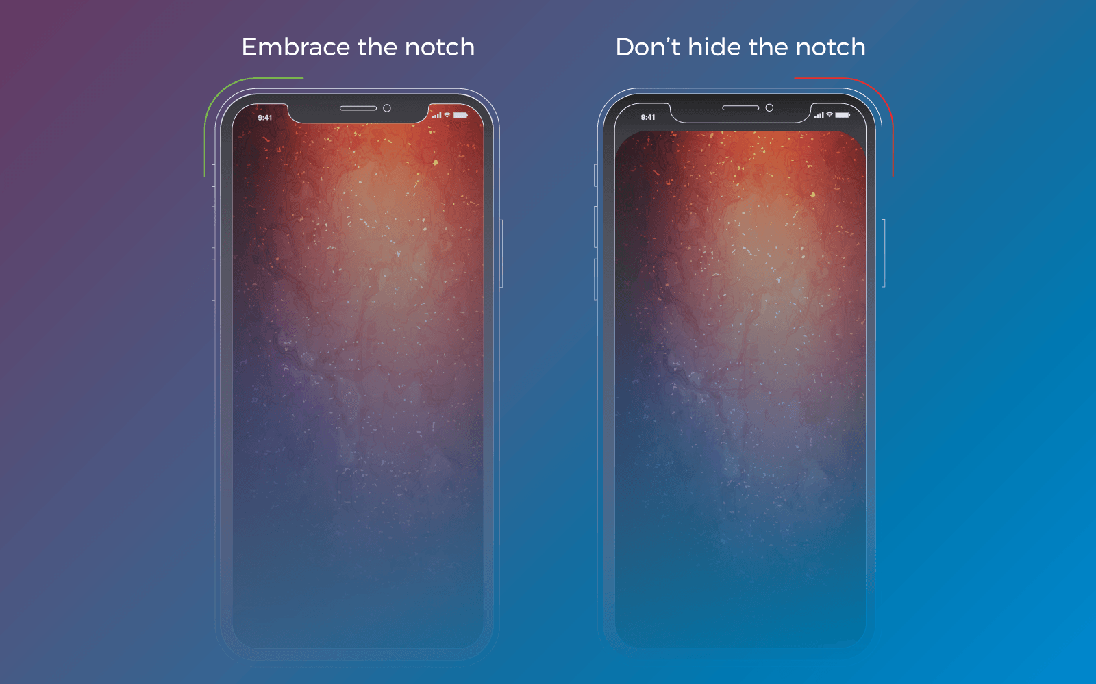Designing For Iphone X 9 Ways To Make Your App Look Neat