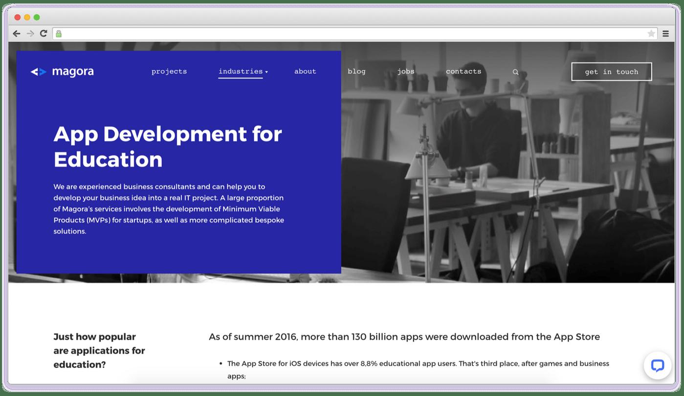 Elearning App Development Company: Magora