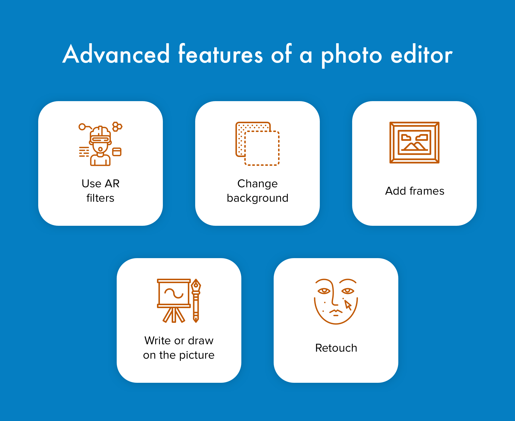 Photo editing app development: Advanced features to integrate