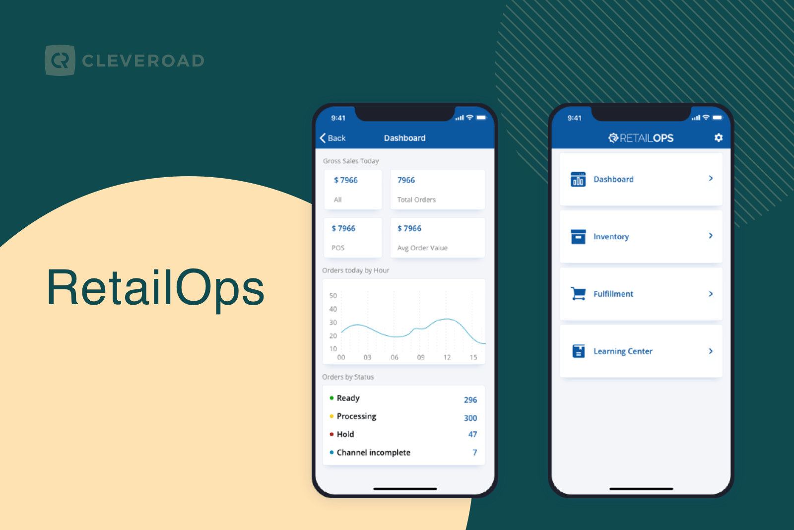 RetailOps mobile design