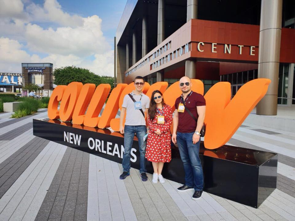 Cleveroad team visited Collision 2018 in New Orleans