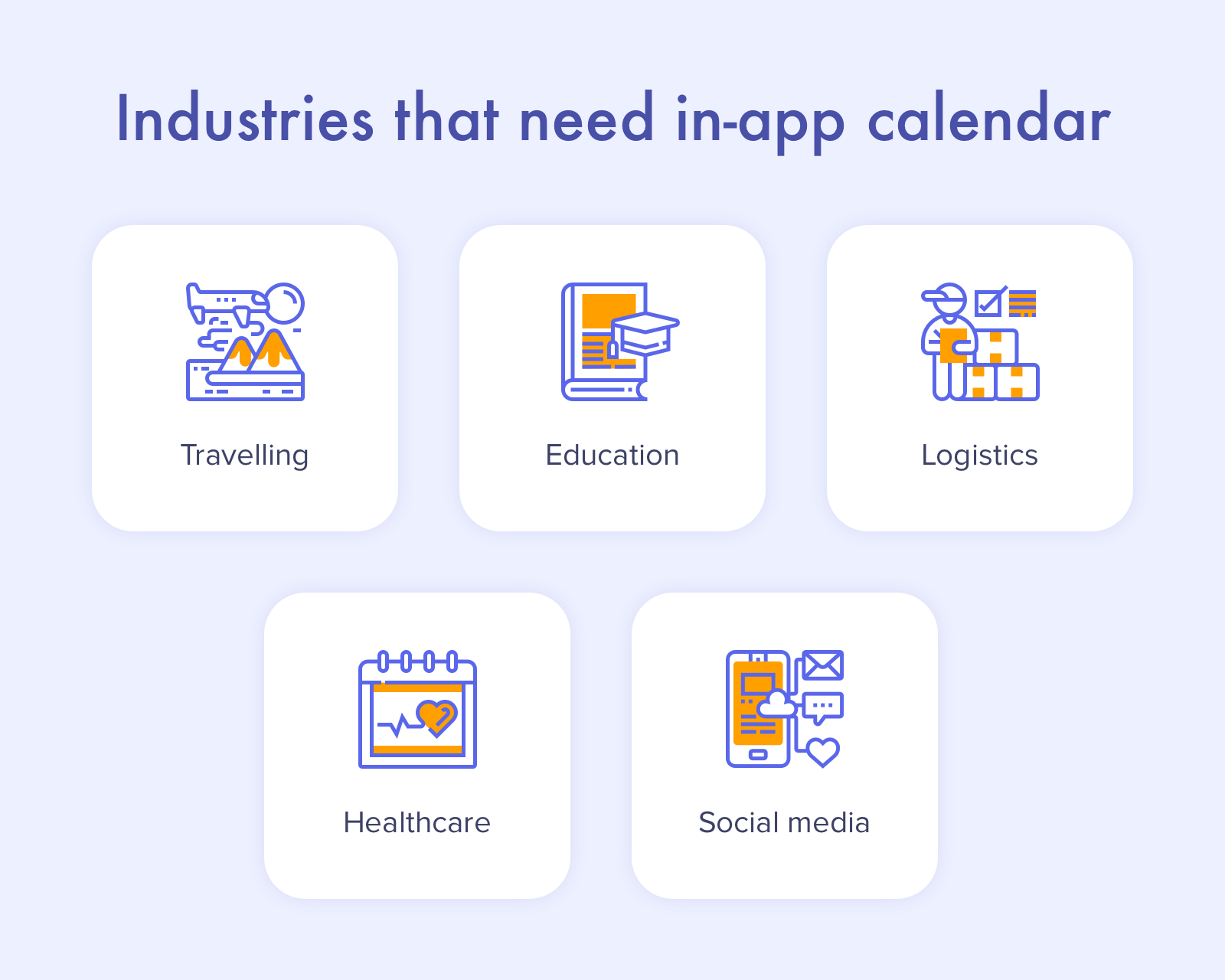 Calendar app development: use cases