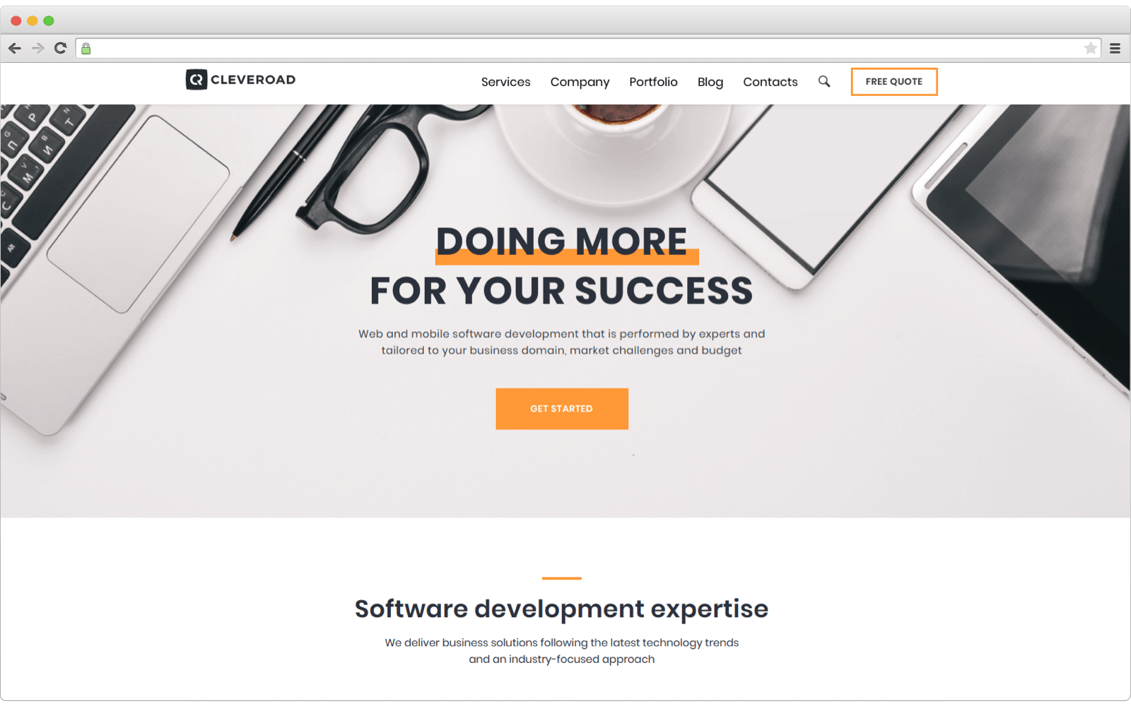E-commerce development company --Cleveroad