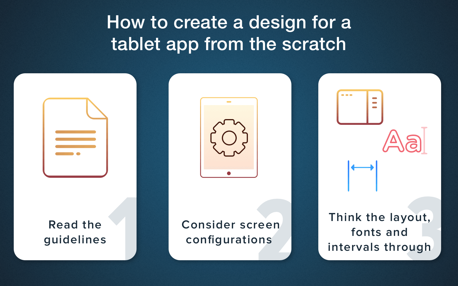 android tablet layout design