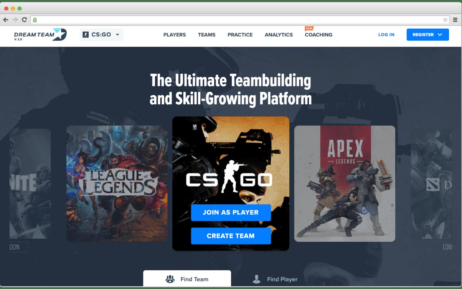 Blockchain in Gaming: DreamTeam