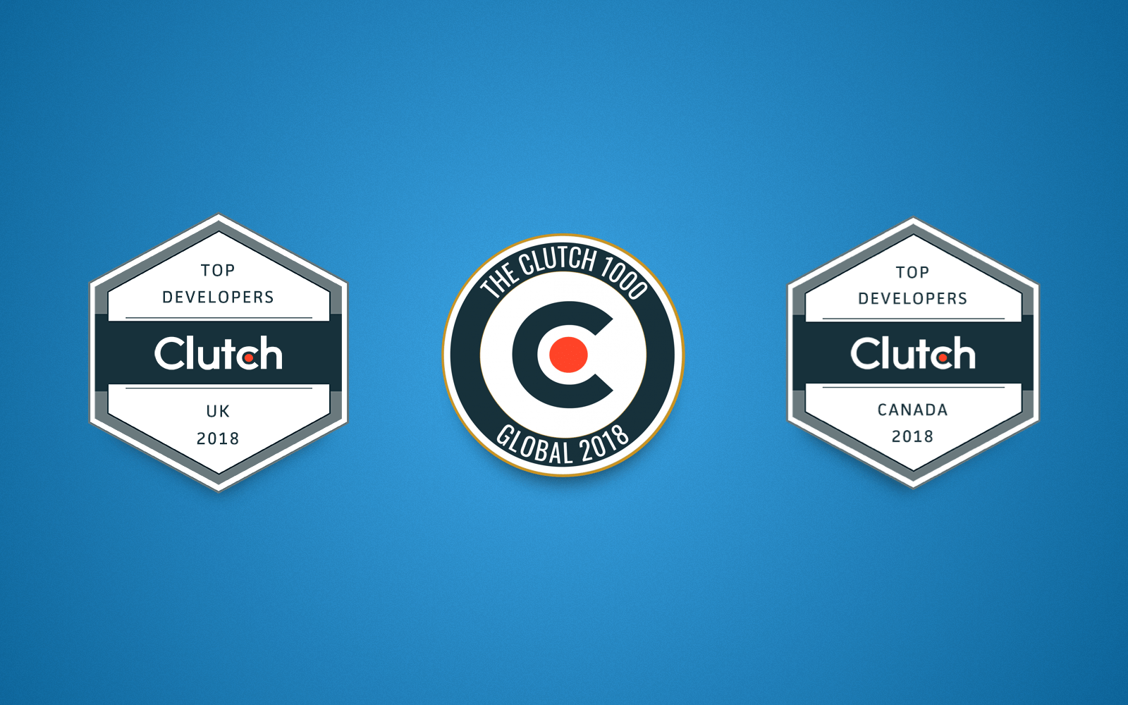 Cleveroad was recognized as Top Developer in the UK and hit the Clutch 1000 global