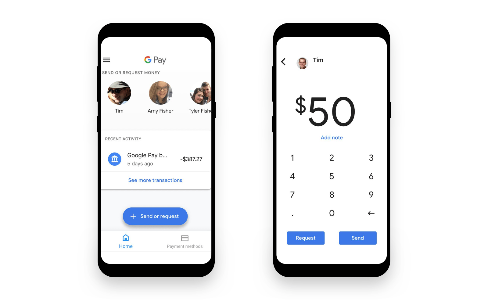 peer to peer payments
