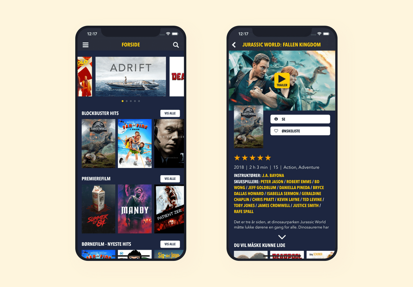 Blockbuster video streaming platform