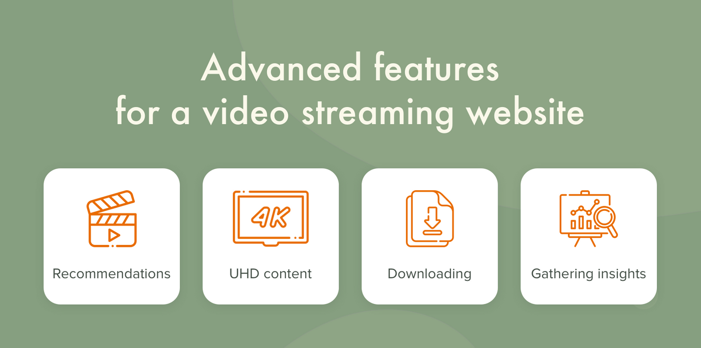 How to create a video streaming website with advanced features