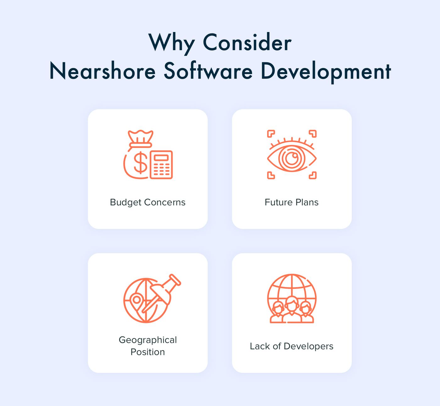 Reasons for Choosing Nearshore Software Outsourcing