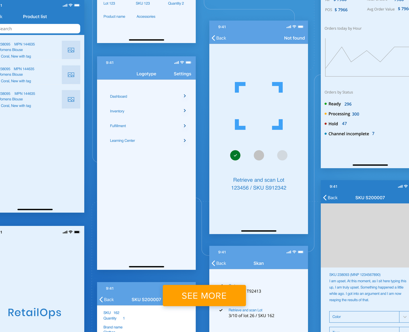 How design wireframes look like
