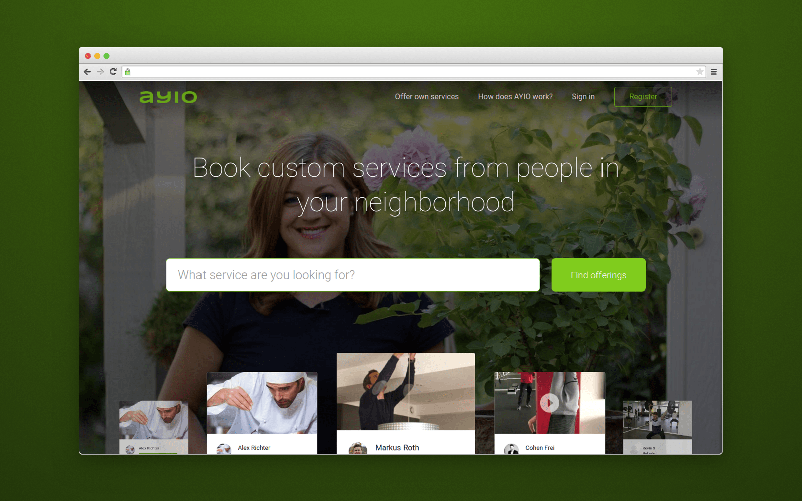 AYIO website