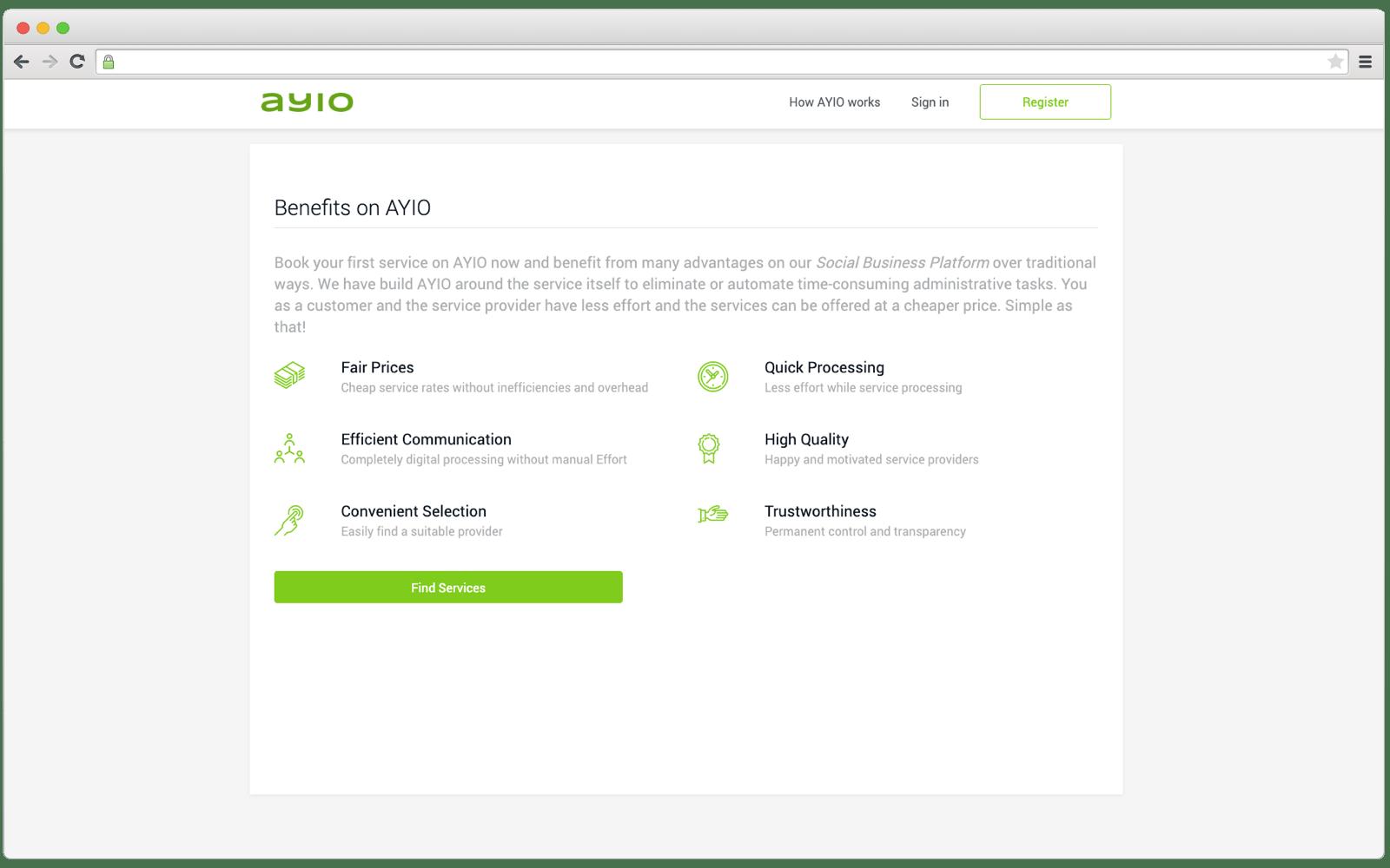 AYIO platform benefits