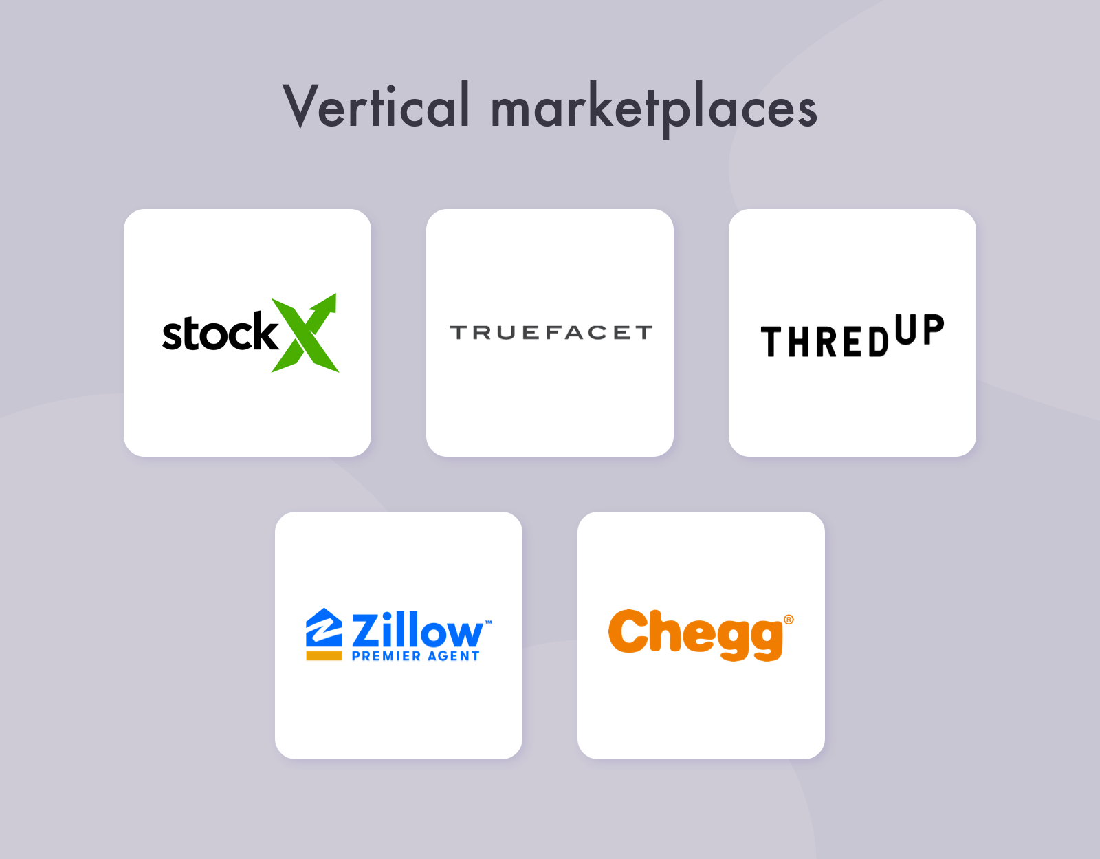 Vertical marketplace companies