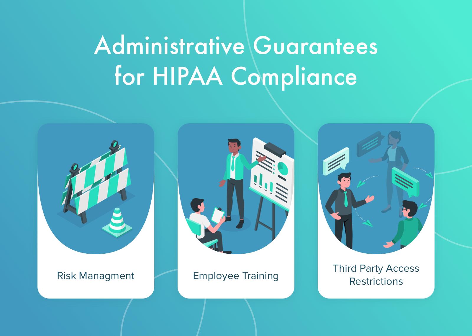 Administrative Guarantees for HIPAA Compliance