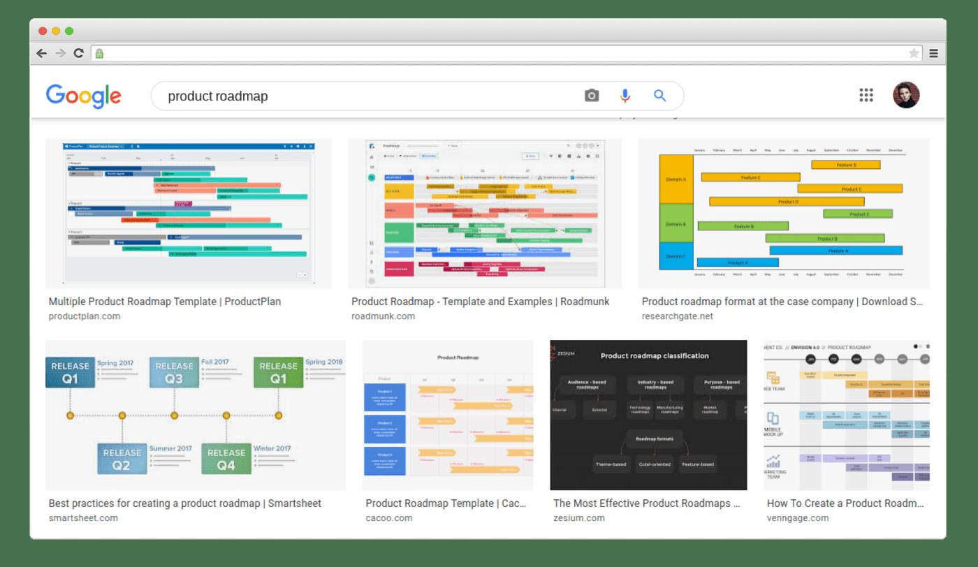 How product roadmaps look like