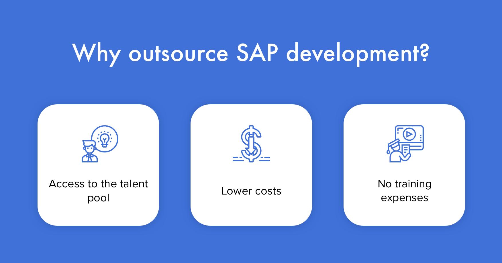 Why outsource SAP development