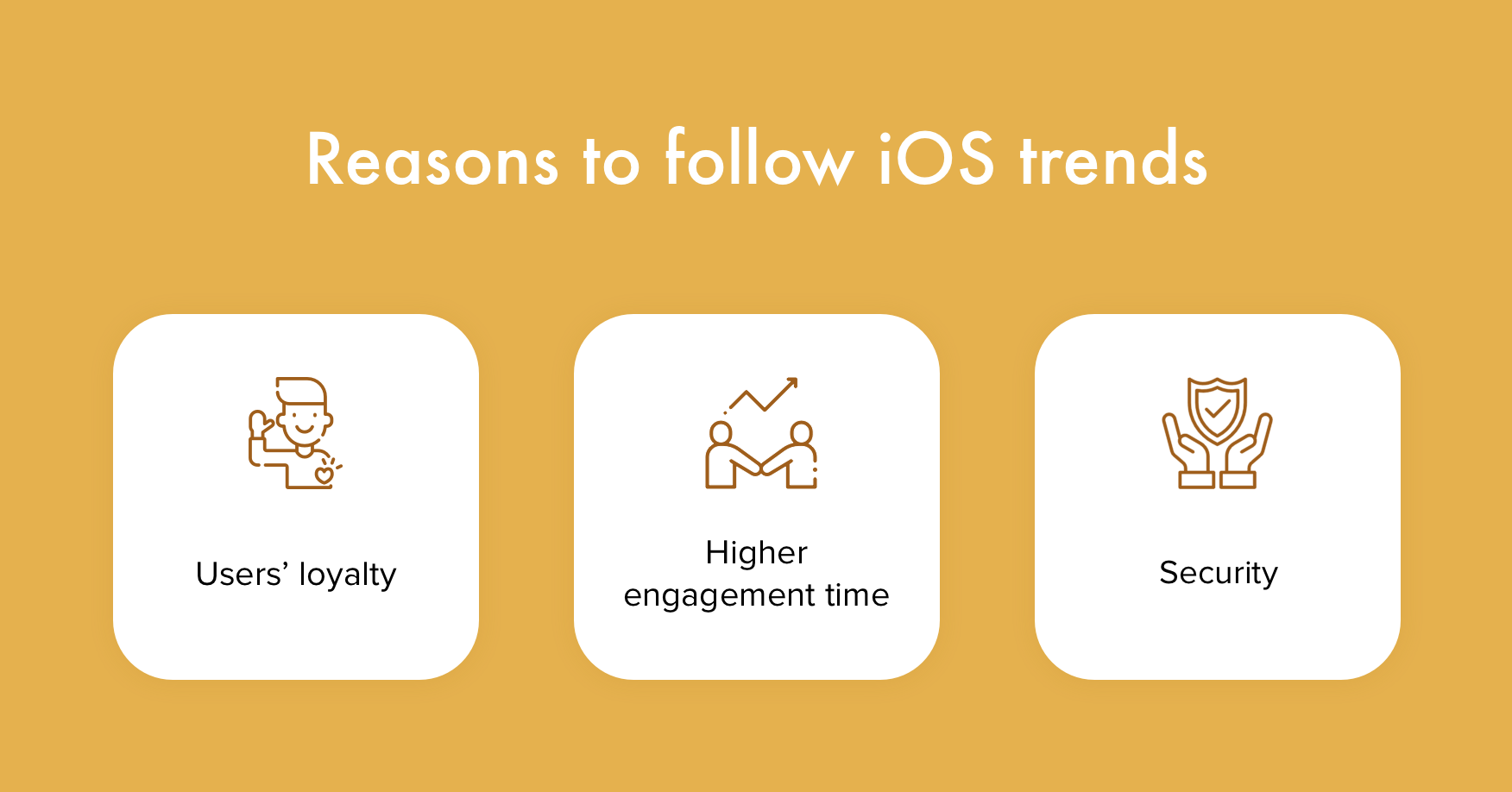 Why integrate iOS development trends