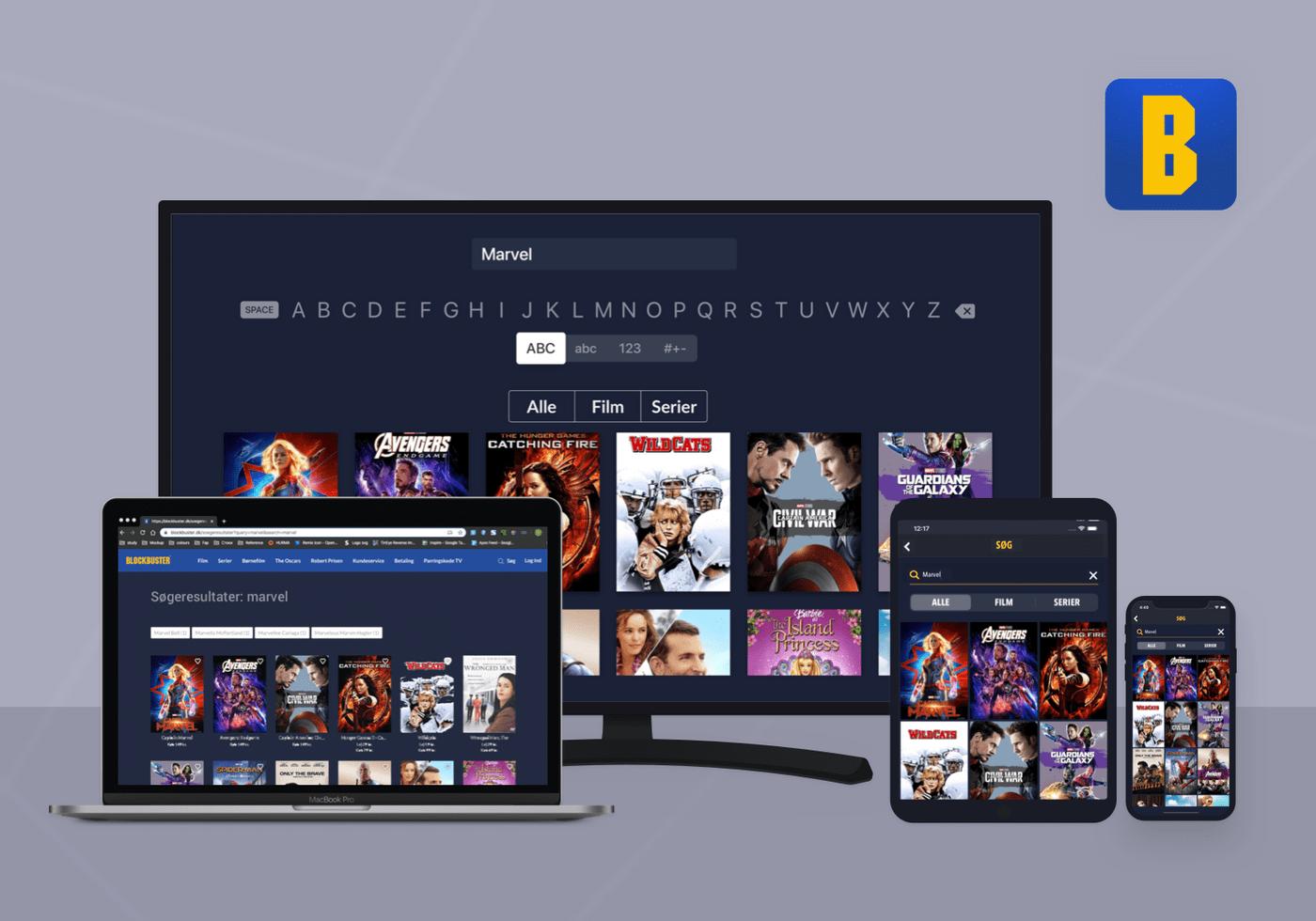 Streaming app: Blockbuster