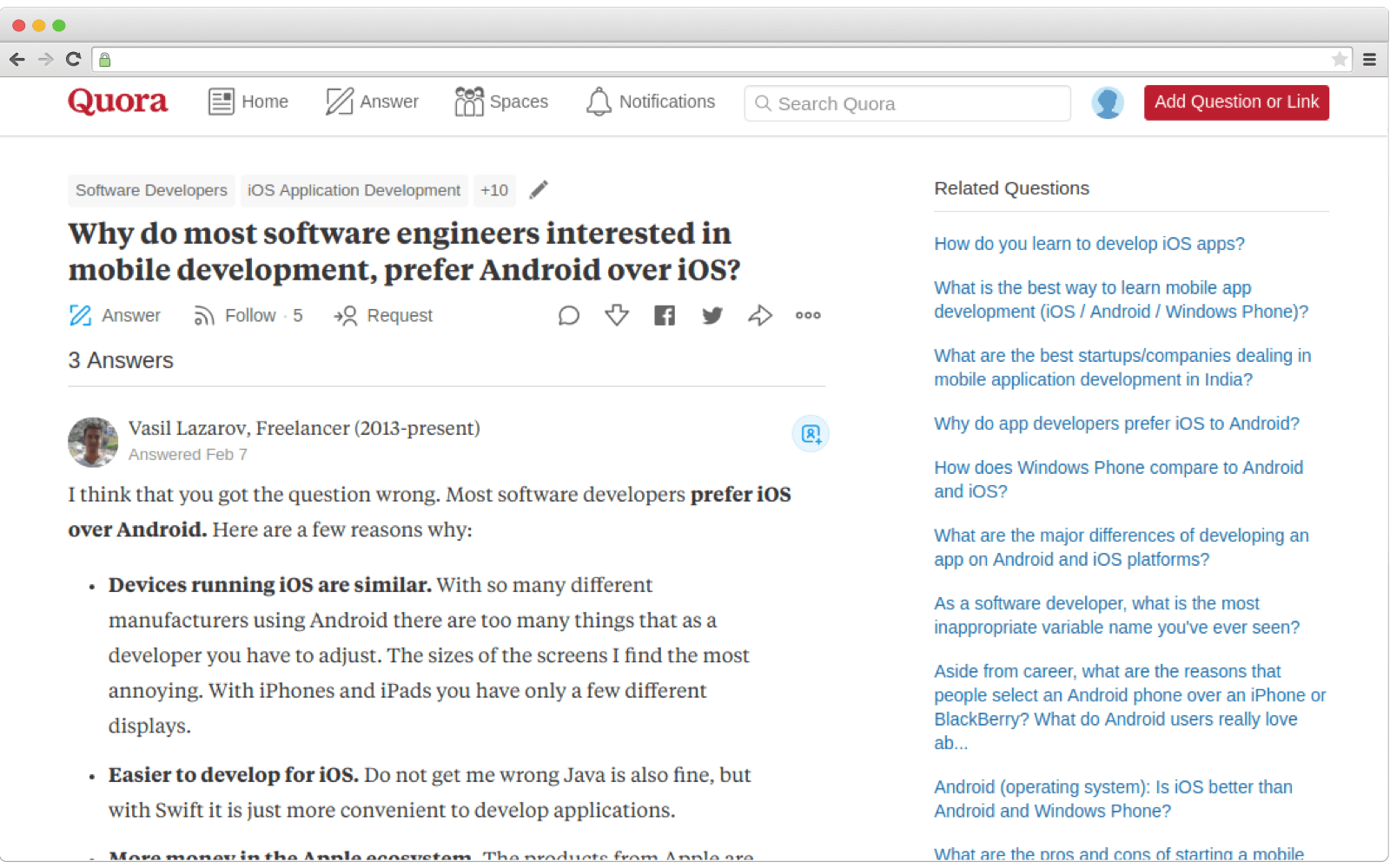 How to create a Q&A website like Quora. Related Questions
