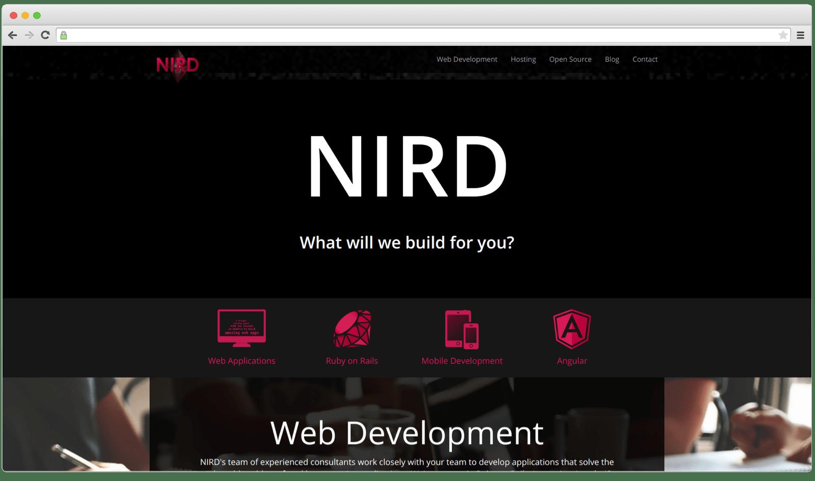 Northwest Independent Ruby Development