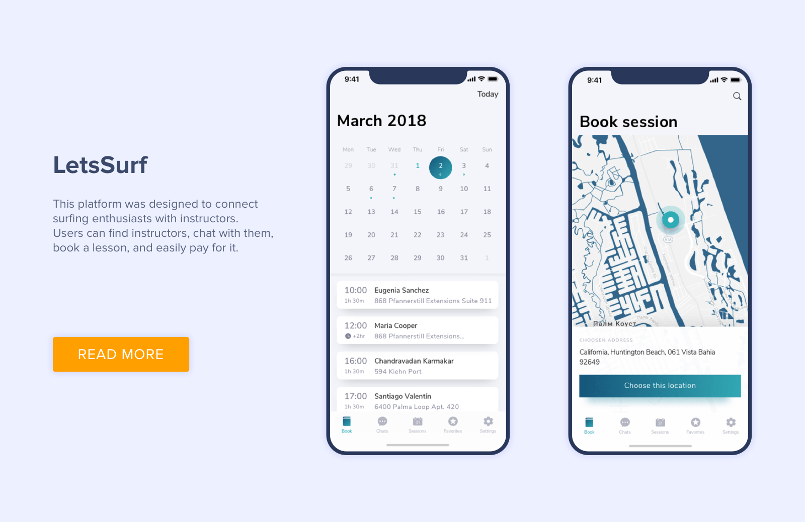 How to make a calendar app
