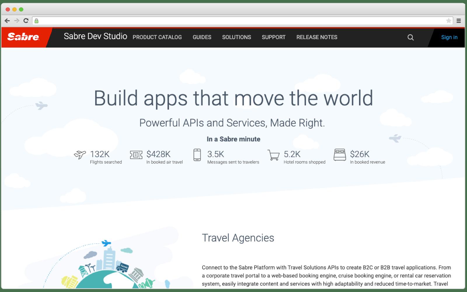 Sabre Car Locations API