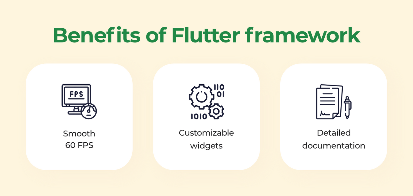 Benefits of Flutter framework