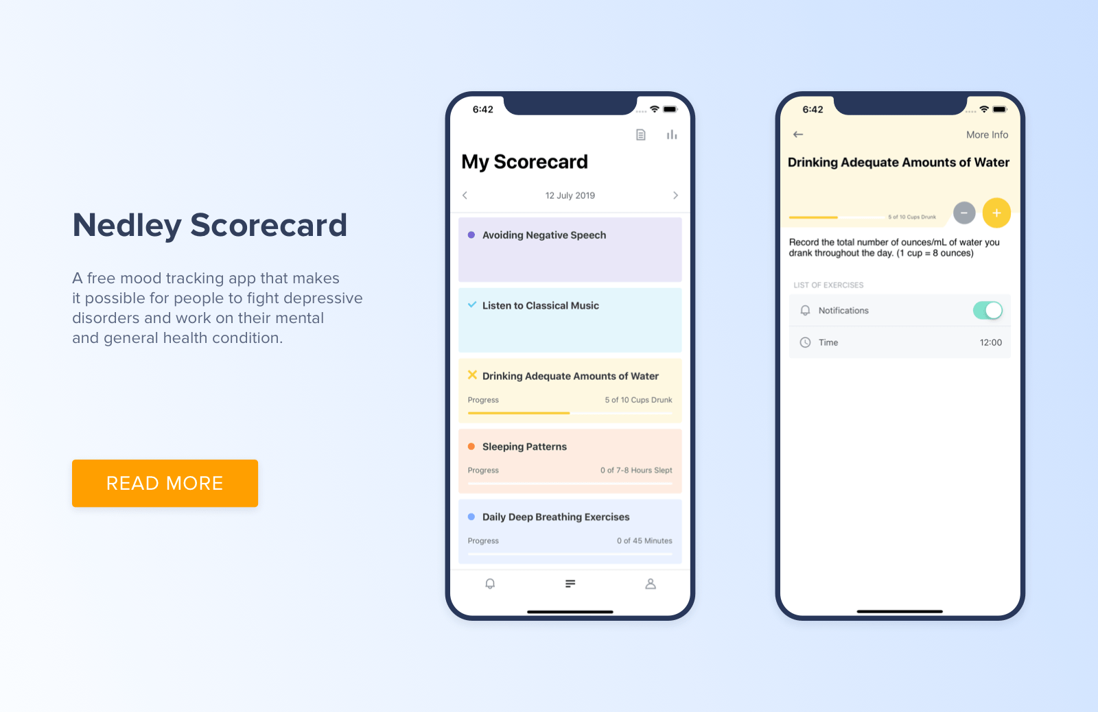 Healthcare app by Cleveroad
