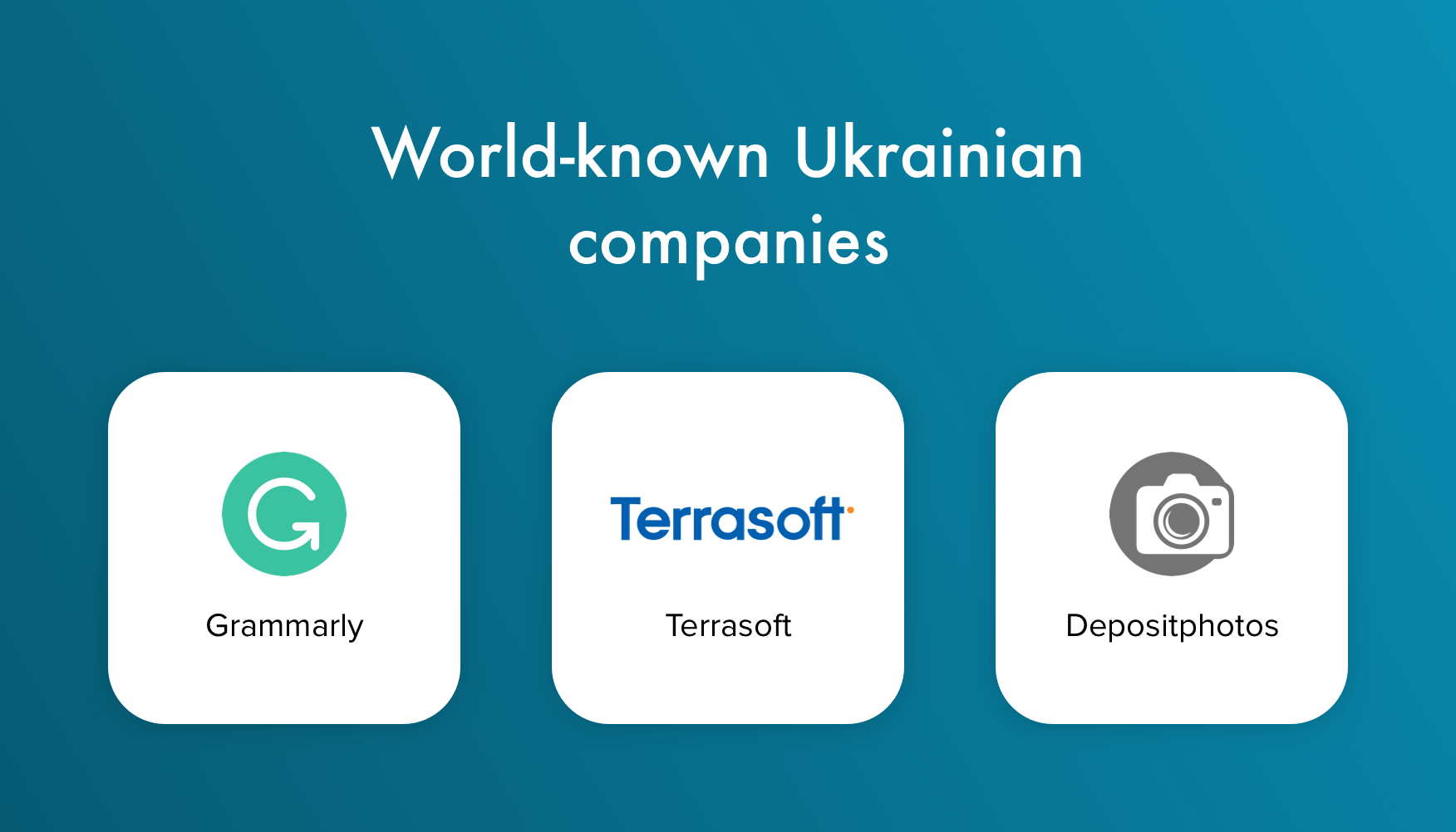 World-known Ukrainian companies