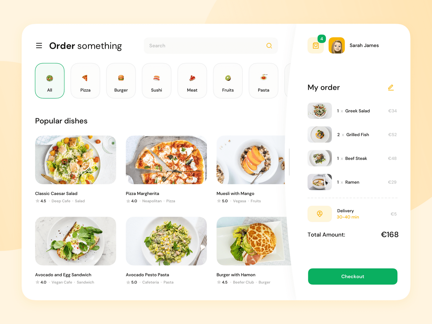 How to make a food delivery website