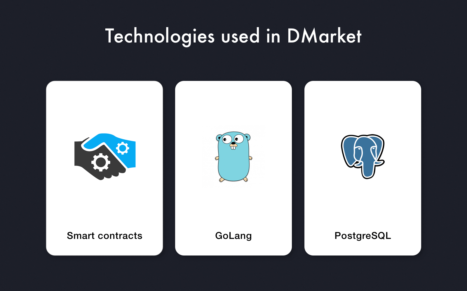 Blockchain in Gaming: Technologies used in DMarket