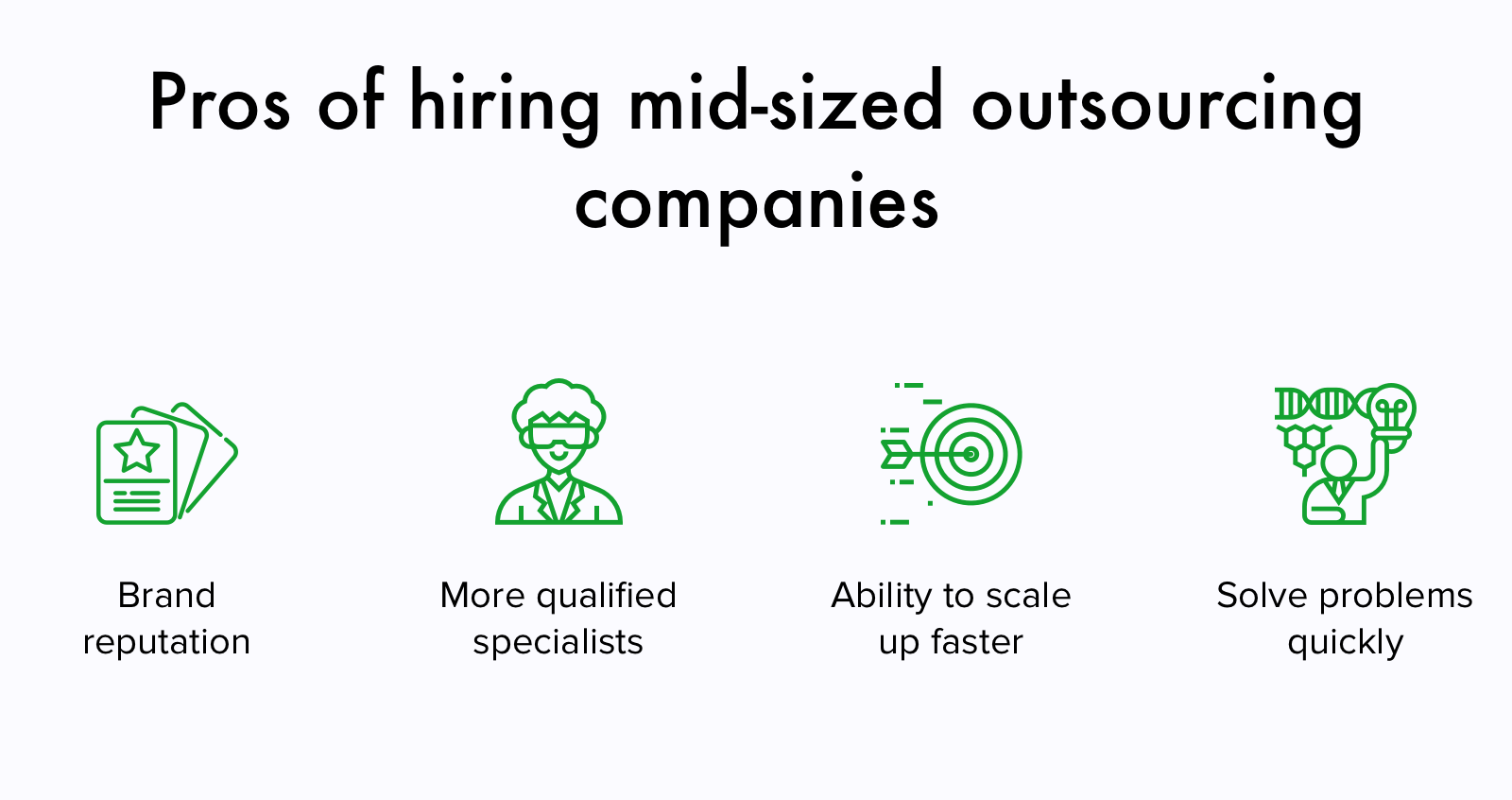 Why choose mid-sized outsoourcing software companies