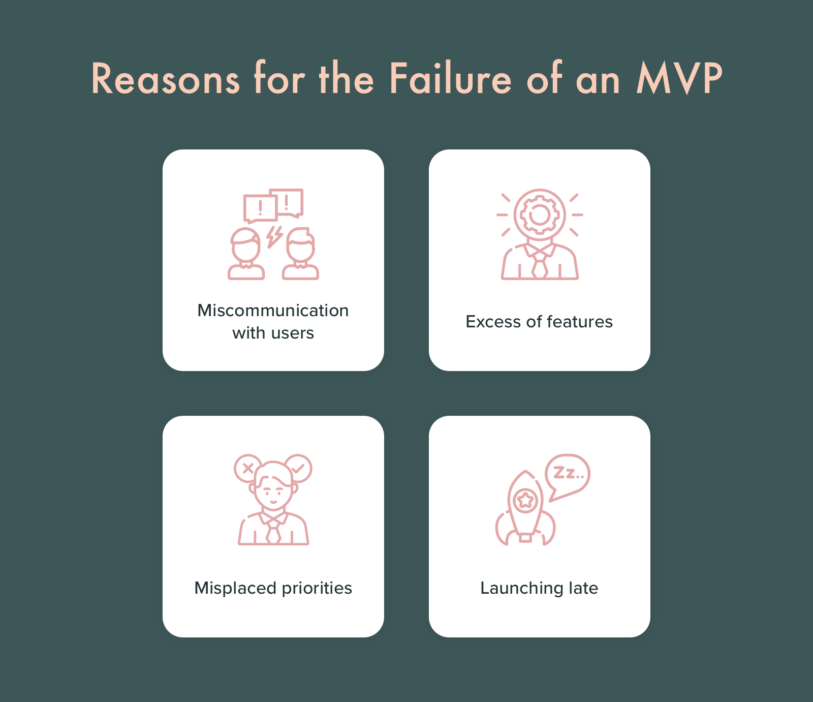 Why MVP software can fail