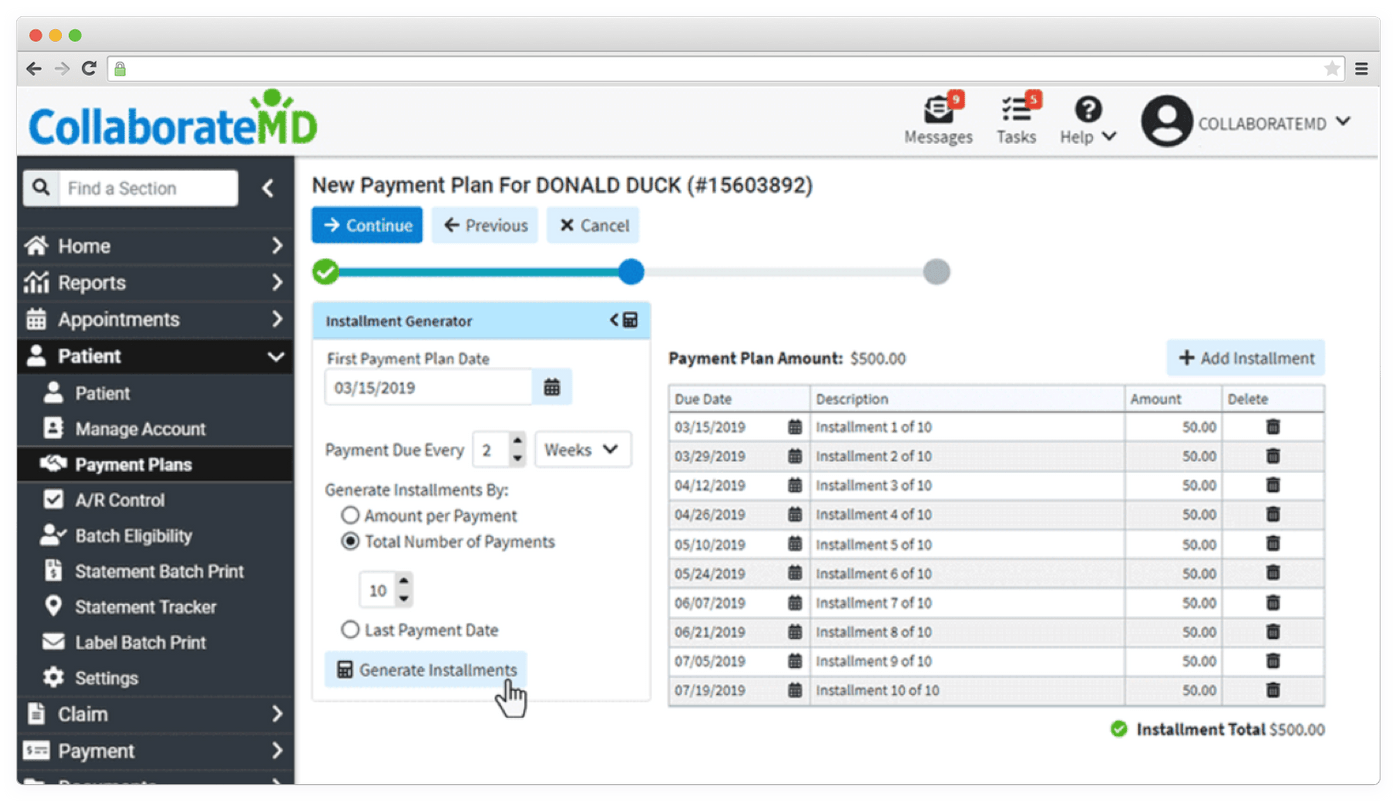 ColaborateMD medical software