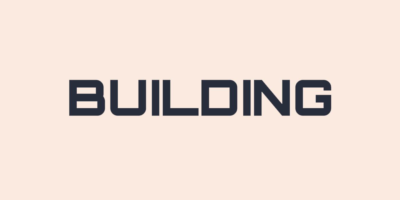 Strict square font