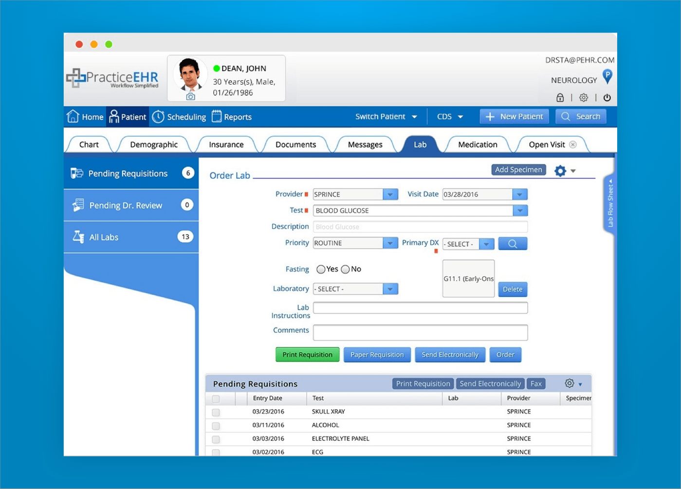 How to create EHR software with labs integration