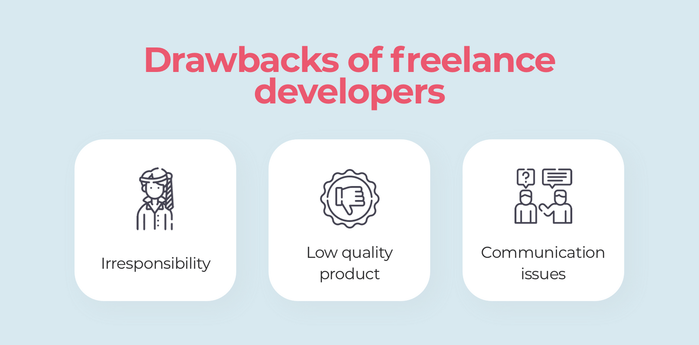 Why you shouldn't hire freelance developers?