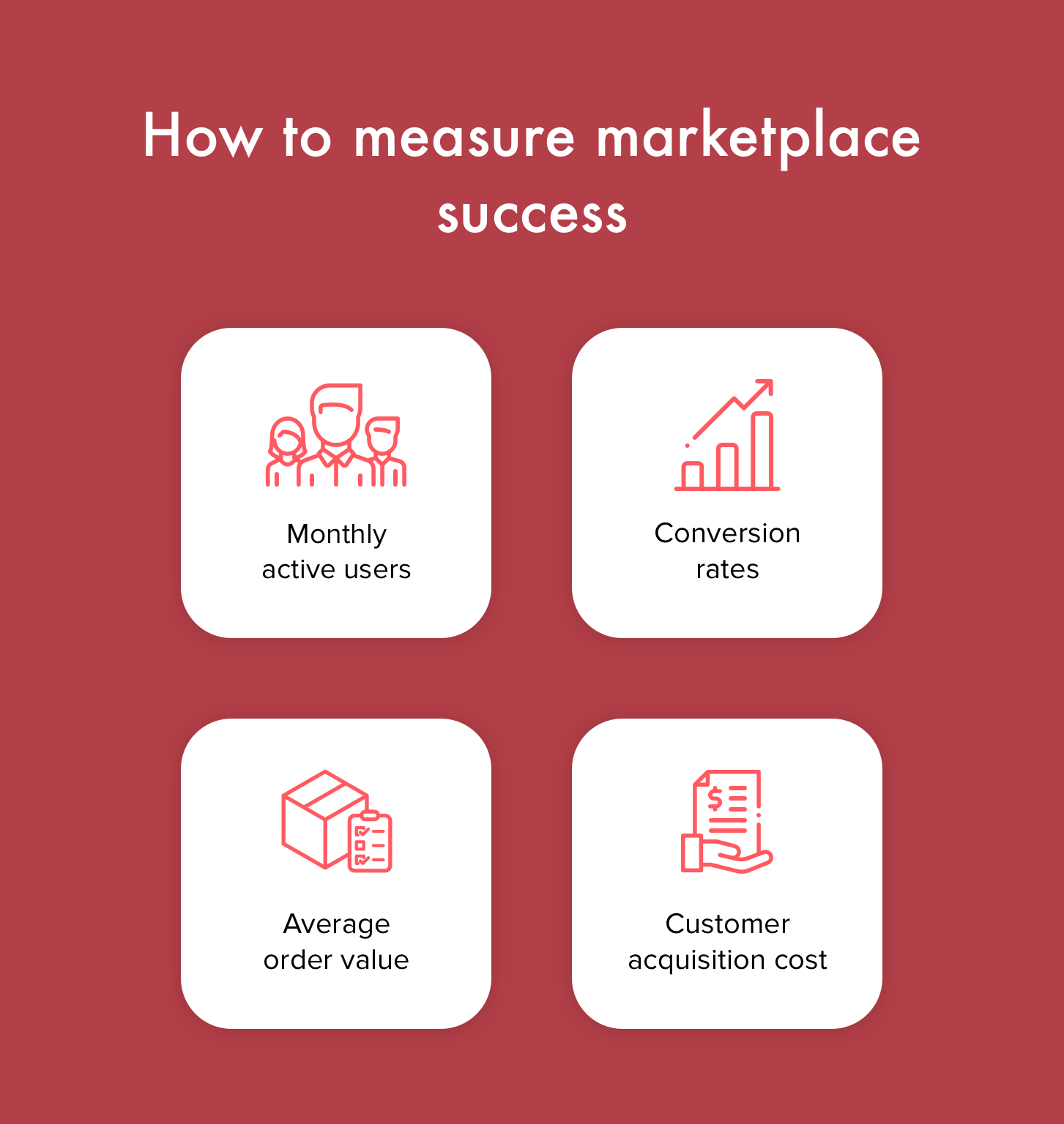 How to measure marketplace success