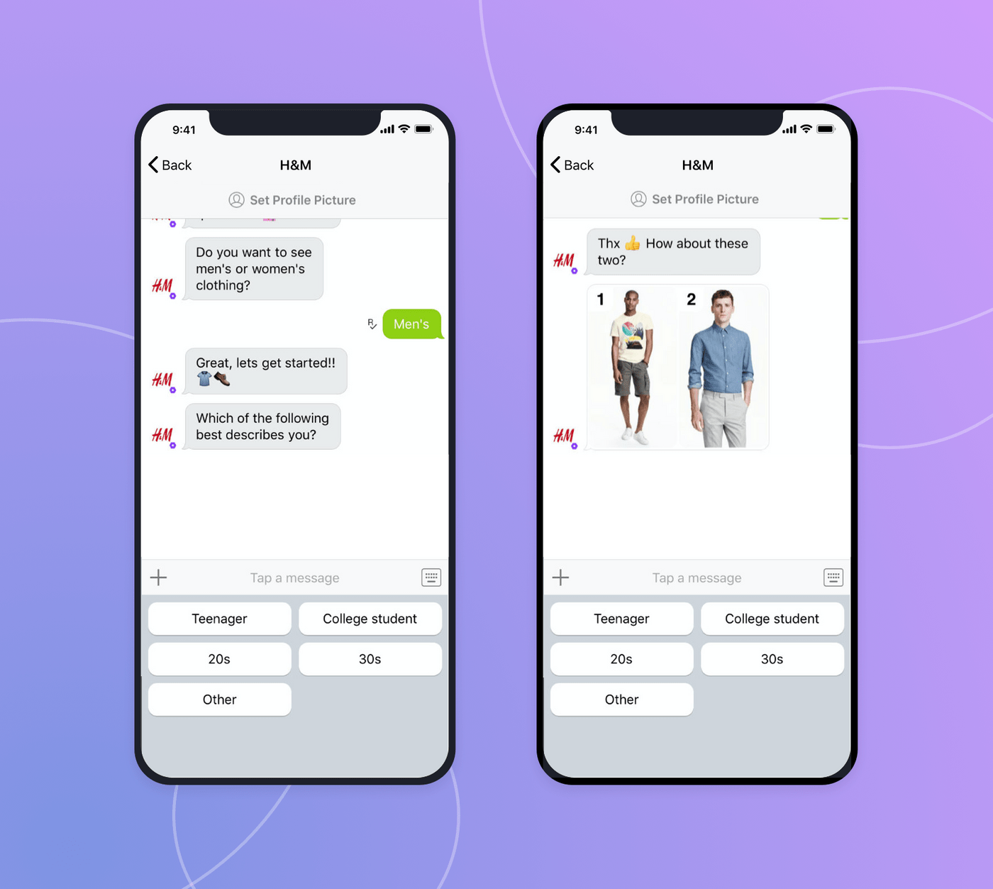 Chatbots in business: H&M use case