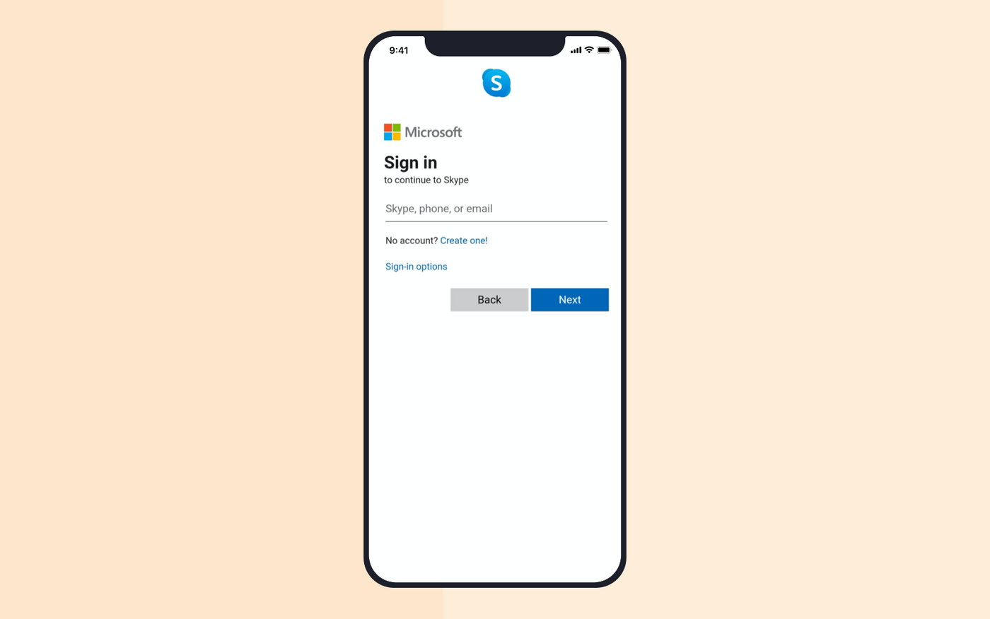 Video chat app development: registration