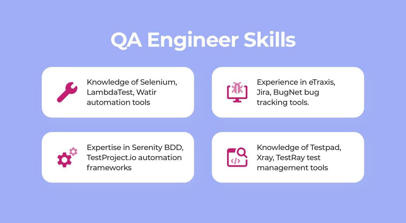 QA engineer skills