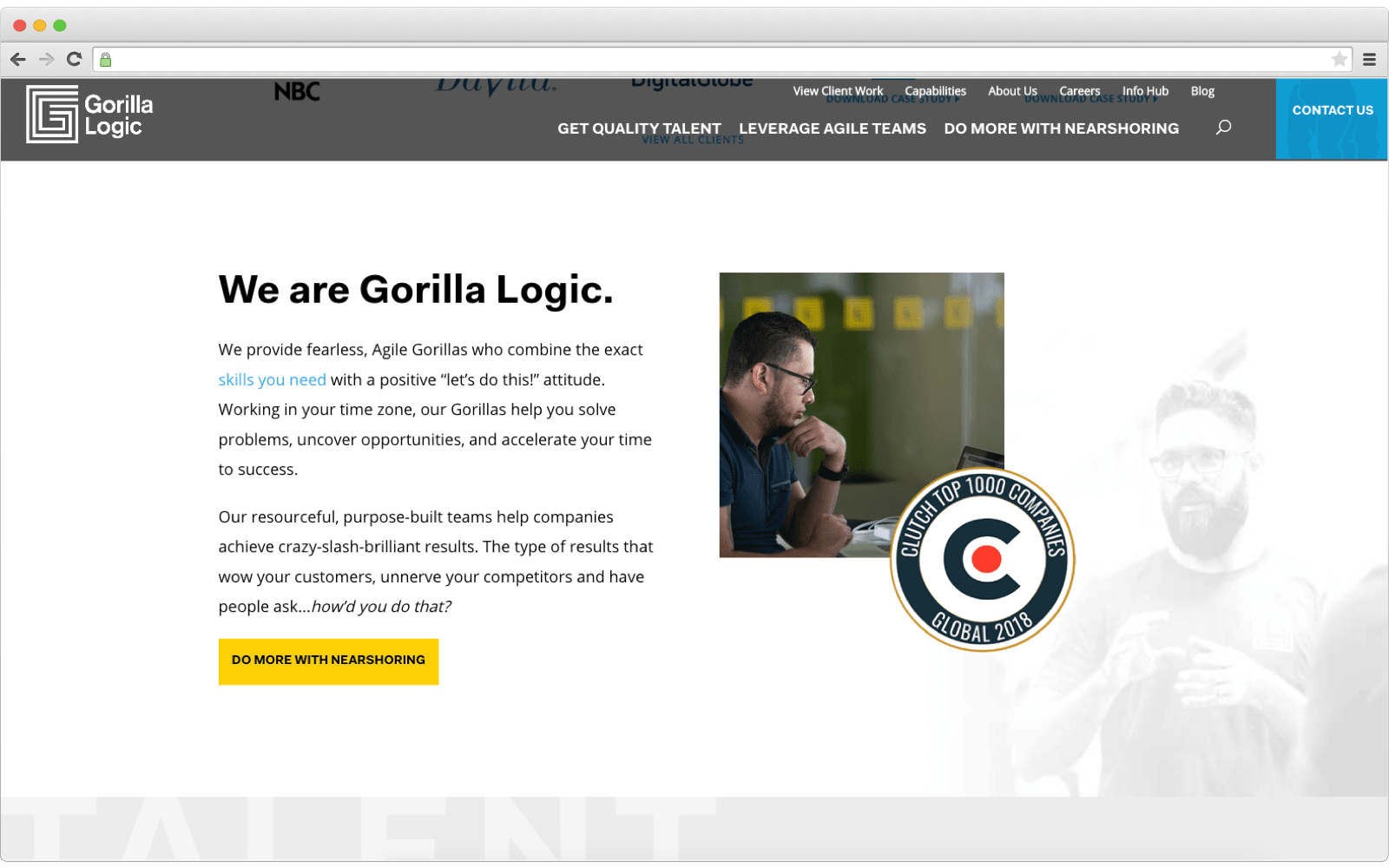 Ecommerce development company: Gorilla Logic