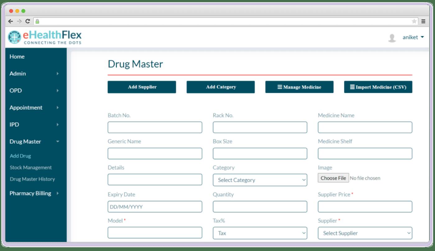 eHealthFlex medical software development