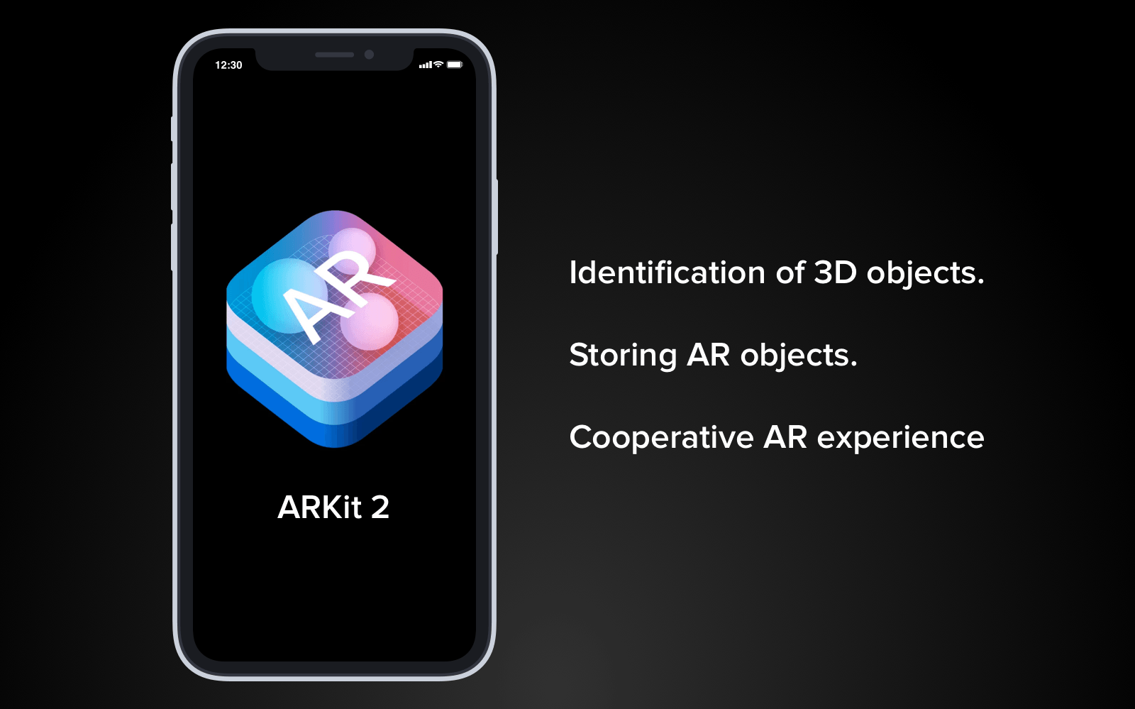ARKit 2018 improvements for iOS 12