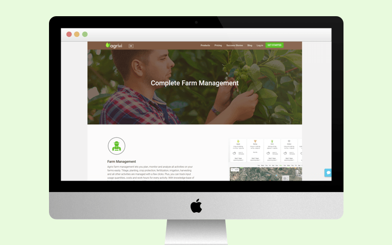 Agriculture CRM
