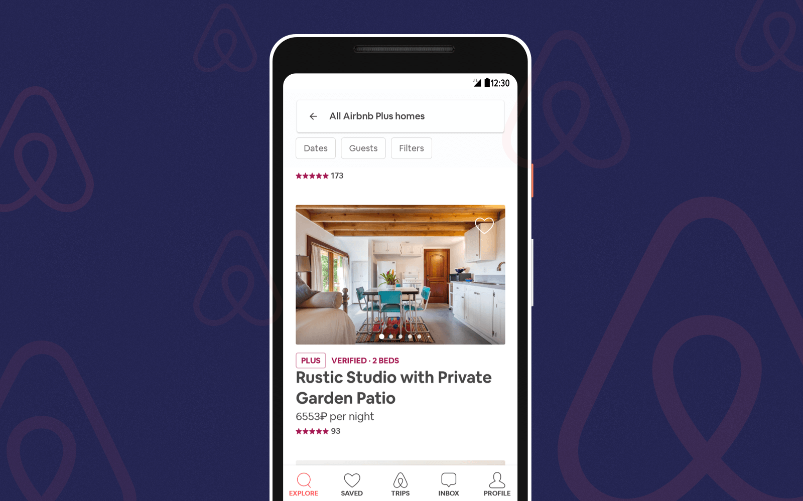Airbnb is a famous personalized app for travellers