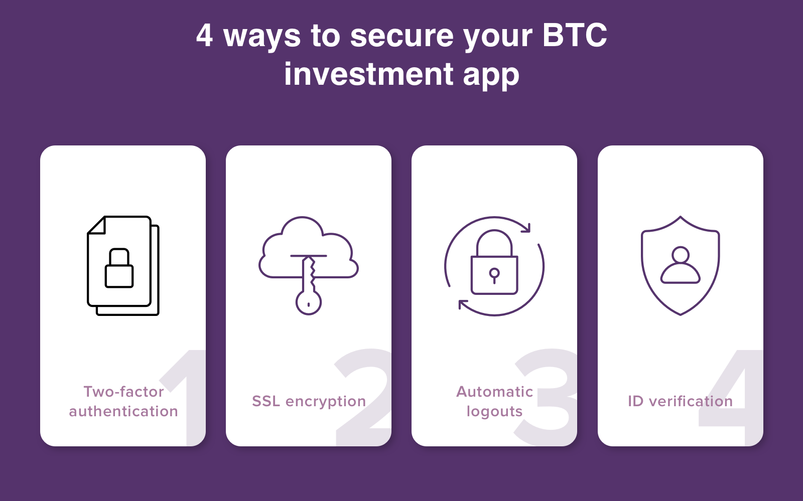 bitcoin app security