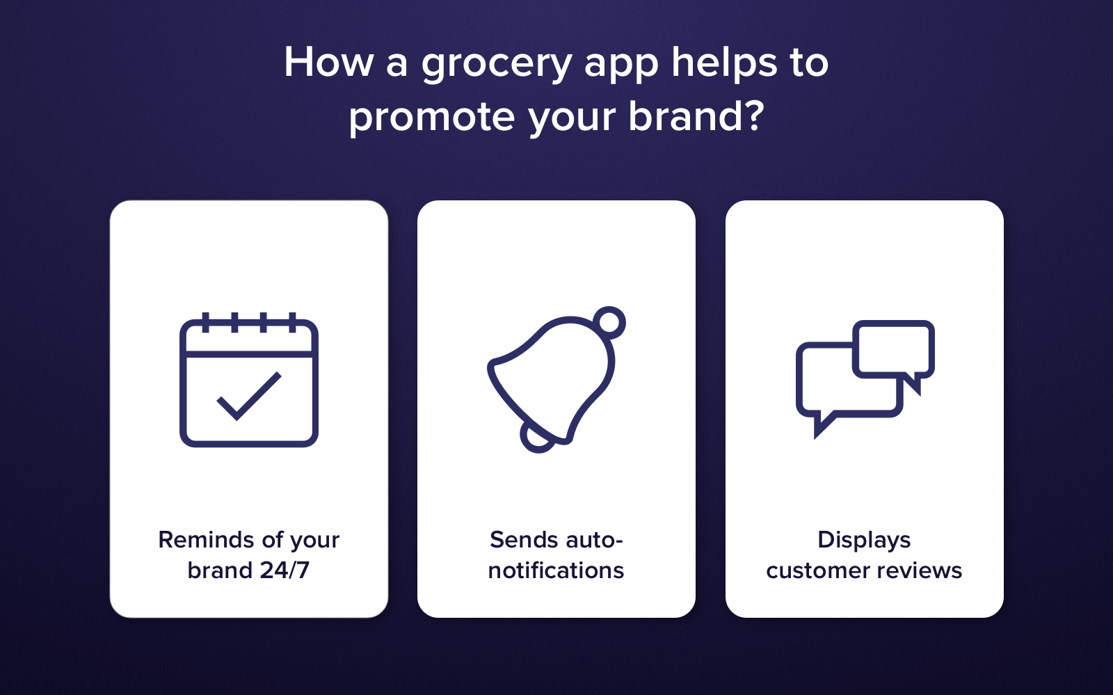 Grocery Mobile App Development: How it helps to Strengthen