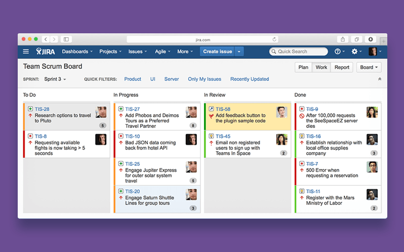 Trello Agile methodology tool